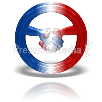 Bipartisan Symbol Presentation clipart