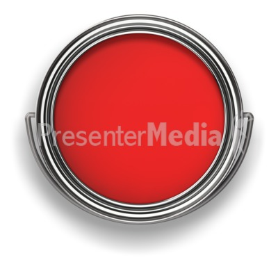 Look in the Paint Can Presentation clipart