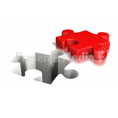 Puzzle Piece Impression Presentation clipart