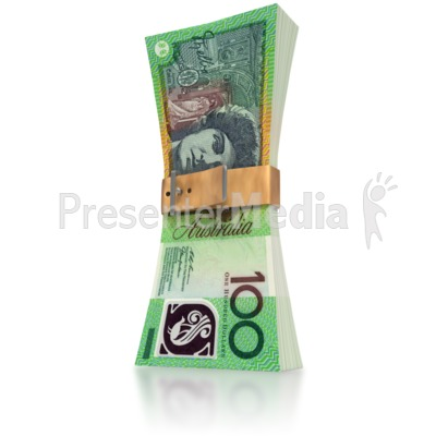 Australain Money Squeeze Presentation clipart