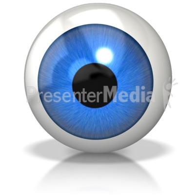Single Eyeball Presentation clipart