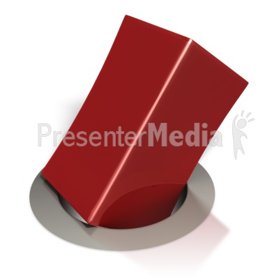Square Peg in a Round Hole Presentation clipart
