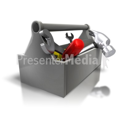 Toolbox Kit Fix Presentation clipart