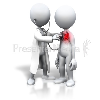 Patient With Heart Trouble Presentation clipart