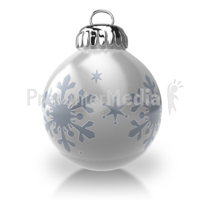 Christmas Ornament Presentation clipart