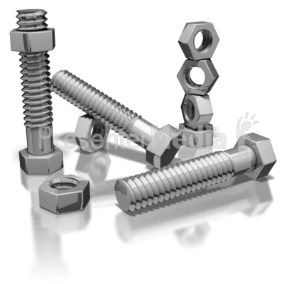 Nuts And Bolts Presentation clipart