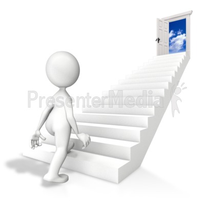 Walk Toward Opportunity Presentation clipart