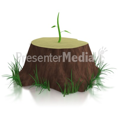 Don't Give Up / New Growth Presentation clipart