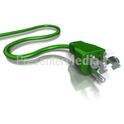 Dollar Power Cord Presentation clipart