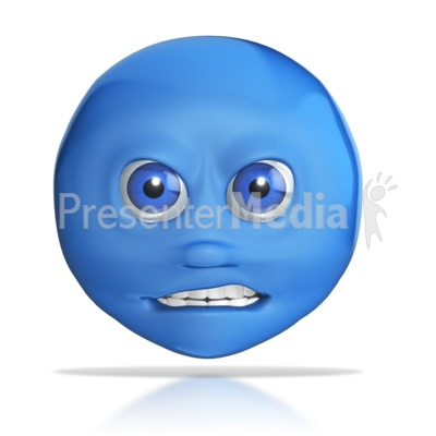 Mad Emotional Head  Presentation clipart