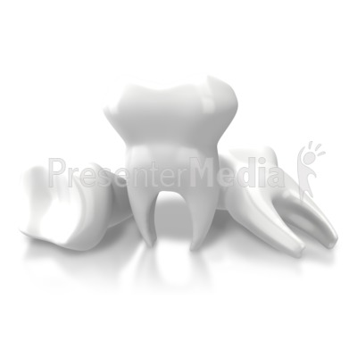 Three Teeth Extracted Presentation clipart