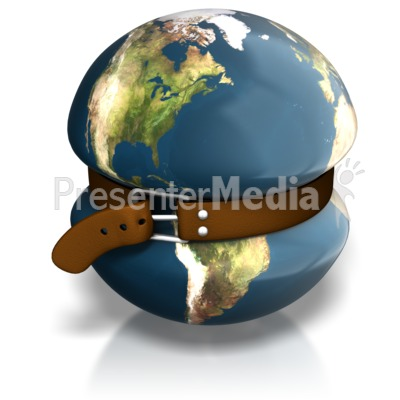 Earth Tighten Belt Presentation clipart