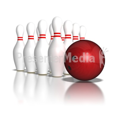 Hitting Head Pin Presentation clipart