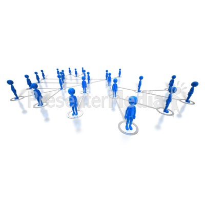People Network Presentation clipart