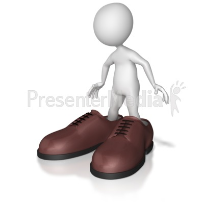 Big Shoes To Fill Presentation clipart