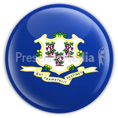 Badge of Connecticut Presentation clipart