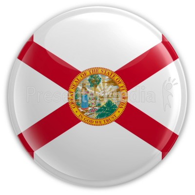 Badge of Florida Presentation clipart