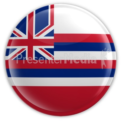 Badge of Hawaii Presentation clipart