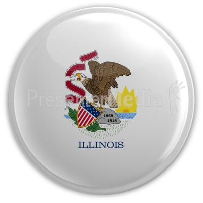 Badge of Illinois Presentation clipart