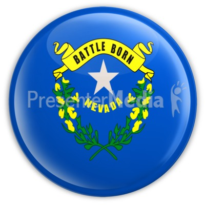 Badge of Nevada Presentation clipart