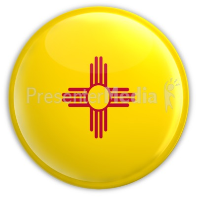Badge of New Mexico Presentation clipart