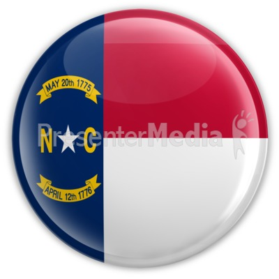 Badge of North Carolina Presentation clipart