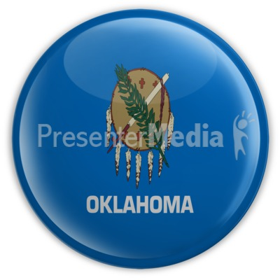 Badge of Oklahoma Presentation clipart