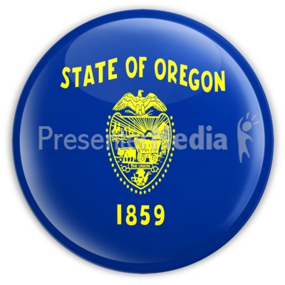 Badge of Oregon Presentation clipart
