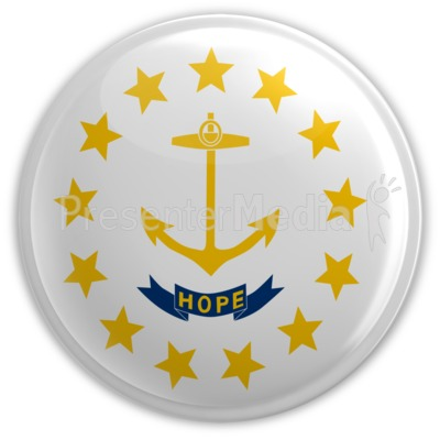 Badge of Rhode Island Presentation clipart