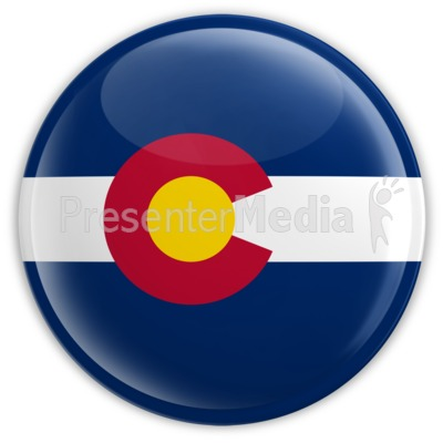 Badge of Colorado Presentation clipart