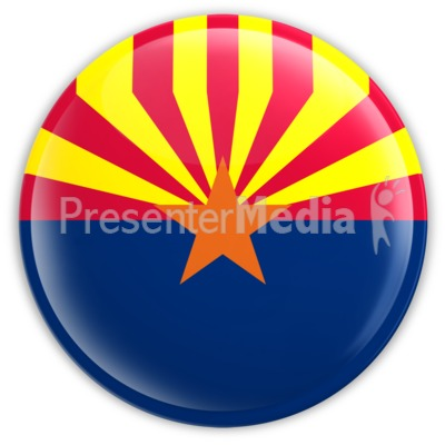Badge of Arizona Presentation clipart
