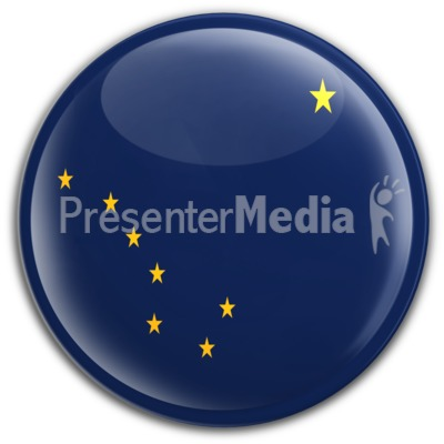 Badge of Alaska Presentation clipart