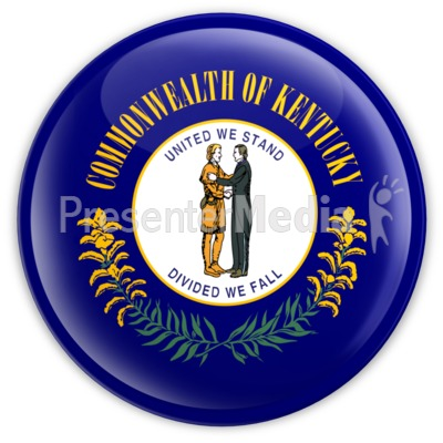 Badge of Kentucky Presentation clipart