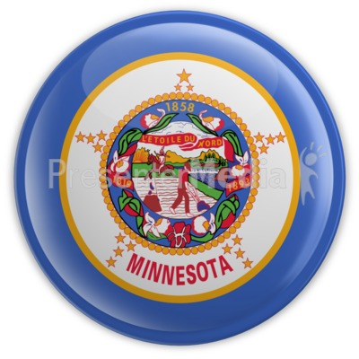 Badge of Minnesota Presentation clipart