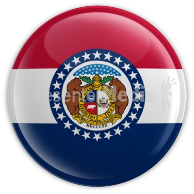 Badge of Missouri Presentation clipart
