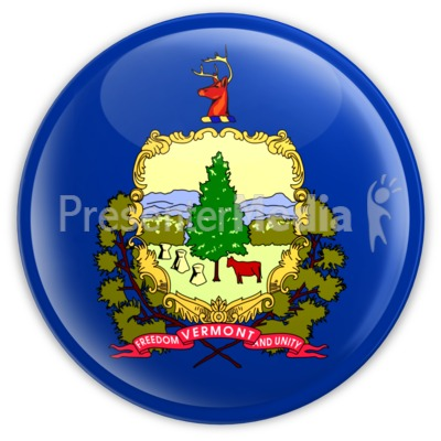 Badge of Vermont Presentation clipart