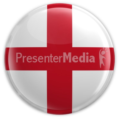 Badge of England Presentation clipart