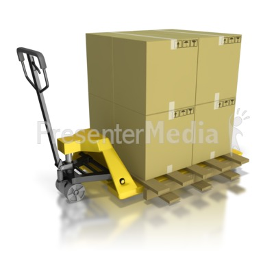 Pallet Mover Moving Product Presentation clipart