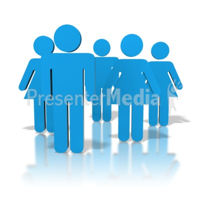 Group Of People Presentation clipart