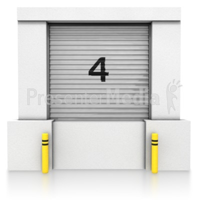 Loading Dock Closed Bay Presentation clipart