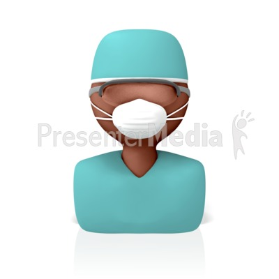 Surgeon Icon Presentation clipart