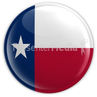 Badge of Texas Presentation clipart