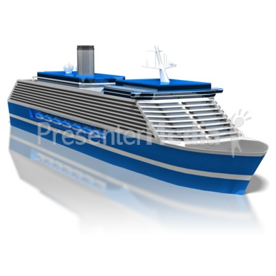 Cruise Ship Presentation clipart