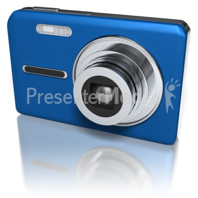 Compact Camera Presentation clipart