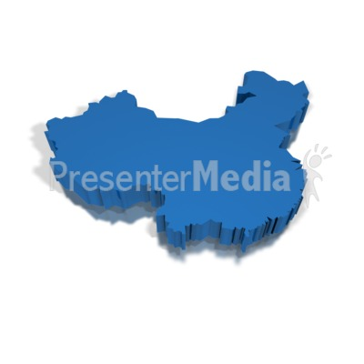 3-D China Presentation clipart