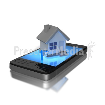 Mobile  Real Estate Presentation clipart