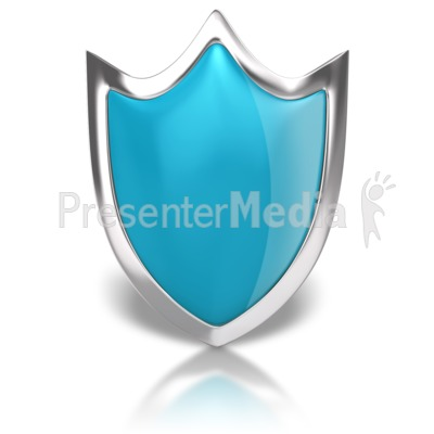 Blank Shiny Shield Presentation clipart