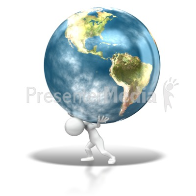The Weight Of The World Presentation clipart
