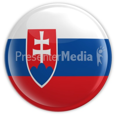 Badge of Slovakia Presentation clipart