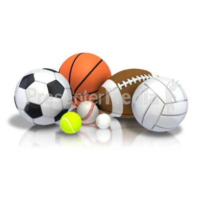 Group Array Sports Presentation clipart